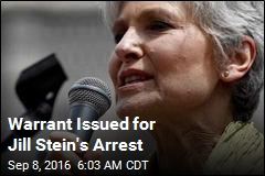 Warrant Issued for Jill Stein's Arrest