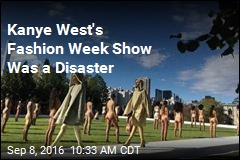 Kanye West Fashion Week Show Was a Disaster
