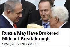 New Mideast Peace Talks Headed for Moscow?