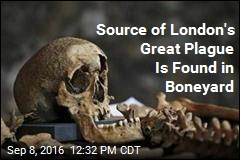 Source of London's Great Plague Is Found in Boneyard