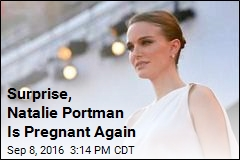 Surprise, Natalie Portman Is Pregnant Again