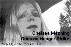 Chelsea Manning Goes on Hunger Strike