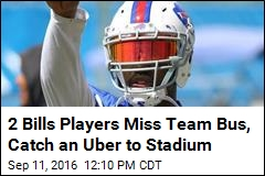 2 Bills Players Miss Team Bus, Catch an Uber to Stadium