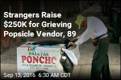 Strangers Raise $250K for Grieving Popsicle Vendor, 89