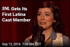 SNL Gets Its First Latina Cast Member