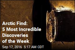 Arctic Find: 5 Most Incredible Discoveries of the Week