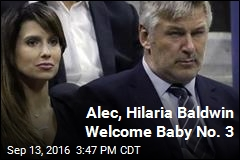 Alec, Hilaria Baldwin Welcome Baby No. 3