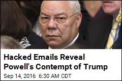 Hacked Emails Reveal Powell's Contempt of Trump