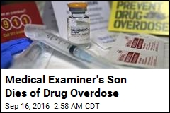 Medical Examiner's Son Dies of Drug Overdose