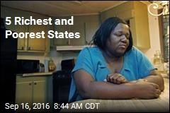 5 Richest and Poorest States