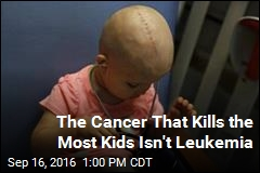 Brain Cancer Now Kills More Kids Than Leukemia