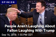 People Aren't Happy With Fallon's Treatment of Trump