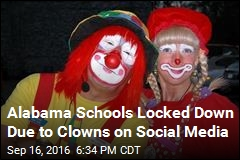 Clowns on Social Media Get Schools Locked Down