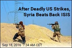 After Deadly US Strikes, Syria Beats Back ISIS