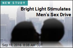 Bright Light Stimulates Men's Sex Drive