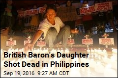 British Baron's Daughter Shot Dead in Philippines