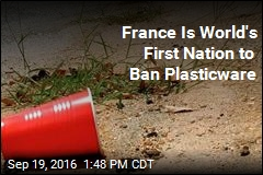 France Is World's First Nation to Ban Plasticware