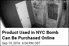 Product Used in NYC Bomb Can Be Purchased Online