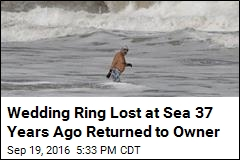 Wedding Ring Lost at Sea 37 Years Ago Returned to Owner
