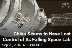 China Seems to Have Lost Control of Its Falling Space Lab