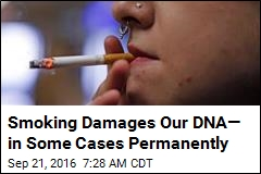 Smoking Damages Our DNA— in Some Cases Permanently