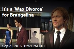 It's a 'Wax Divorce' for Brangelina