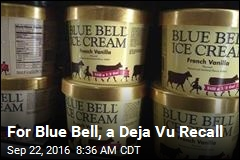 Blue Bell Recalls More Ice Cream