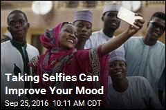 Taking Selfies Can Improve Your Mood