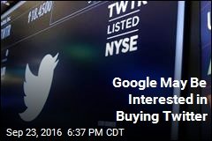Google May Be Interested in Buying Twitter