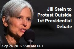Jill Stein to Protest Outside 1st Presidential Debate