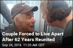 Couple Forced to Live Apart After 62 Years Reunited