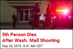 5th Person Dies After Wash. Mall Shooting