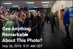 Epic Portrait of the Selfie Emerges on Campaign Trail
