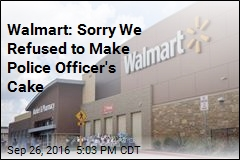Walmart: Sorry We Refused to Make Police Officer's Cake