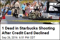 Cops: Man Shoots Up Starbucks After Credit Card Declined
