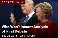 Who Won? Instant Analysis of First Debate