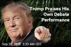 Trump Says He Won Debate Despite 'Holding Back'