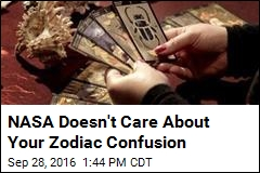 NASA Doesn't Care About Your Zodiac Confusion