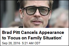 Brad Pitt Skipping Premiere of New Movie