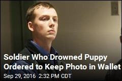 Judge: Soldier Must Keep Photo in Wallet of Puppy He Drowned