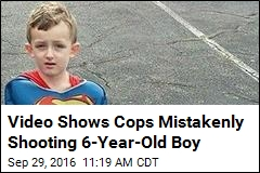Video Shows Cops Mistakenly Shooting 6-Year-Old Boy