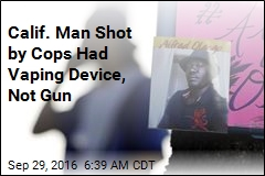 Calif. Man Was Shot After Pointing Vaping Device at Cops