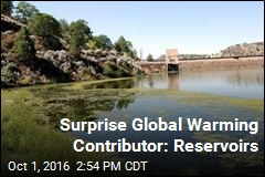 Reservoirs Are Hidden Source of Greenhouse Gases