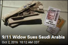 9/11 Widow Sues Saudi Arabia