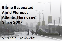 Gitmo Workers Evacuated as Hurricane Matthew Nears