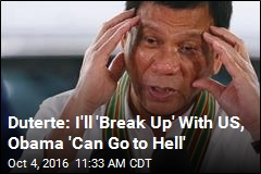 Duterte Tells Off Obama—Again