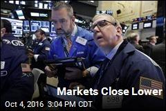 Markets Close Lower