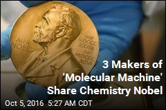 'Molecular Machine' Makers Share Nobel Prize