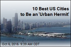10 Best US Cities to Be an 'Urban Hermit'