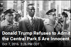 Trump Still Believes the Central Park 5 Are Guilty